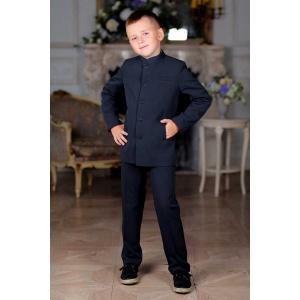 Френч костюм для мальчика черный