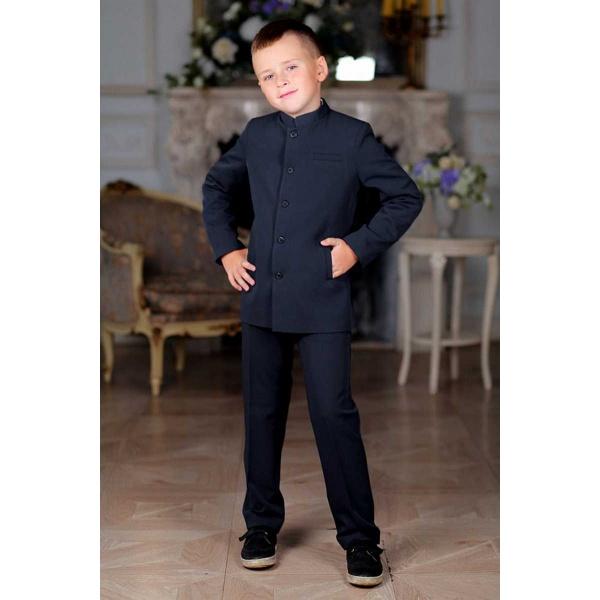 Френч костюм для мальчика черный 116