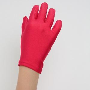 Перчатки детские на 5 пальцев красные