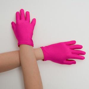 Перчатки детские на 5 пальцев малина