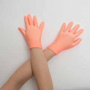 Перчатки детские на 5 пальцев персик