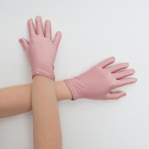 Перчатки детские на 5 пальцев пудра