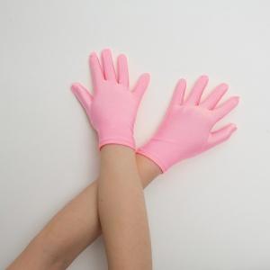 Перчатки детские на 5 пальцев розовые