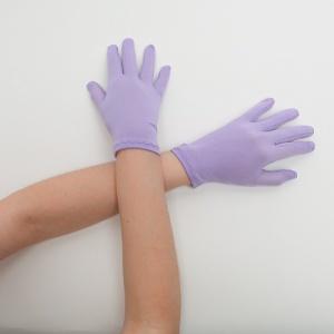 Перчатки детские на 5 пальцев сирень