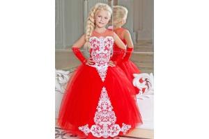 Красивые пышные платья для девочек