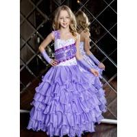 Платье на праздник для девочки сиреневое