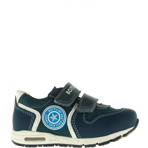 Полуботинки детские, размер 21, цвет синий 5053626