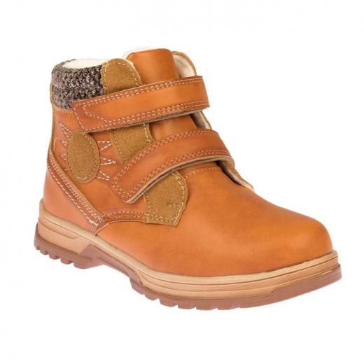 Ботинки детские YT-9 MINAKU коричневый р. 31 3587493