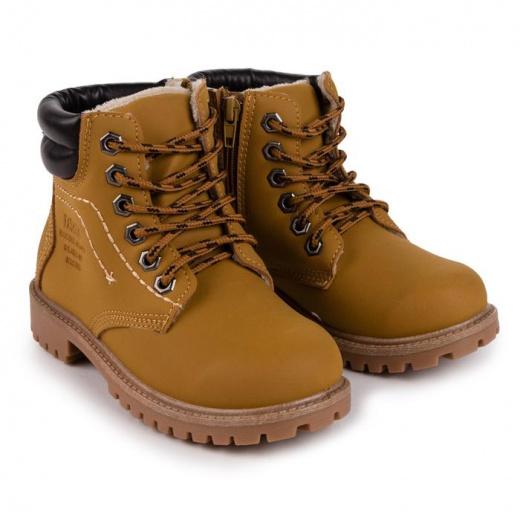 Ботинки детские, цвет коричневый, размер 31