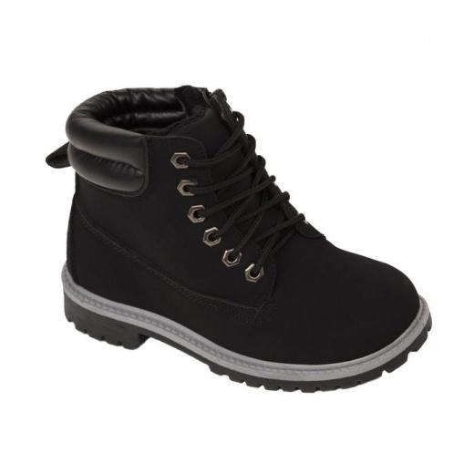 Ботинки детские и подрост. арт. LEK40396-01, цвет чёрный, размер 31