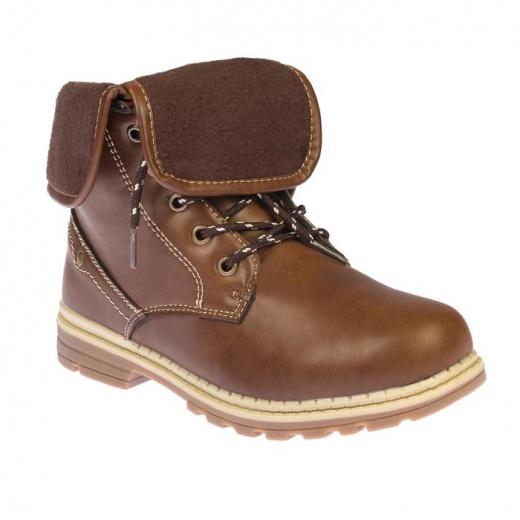 Ботинки детские YT-12 MINAKU коричневый р. 32 3587565