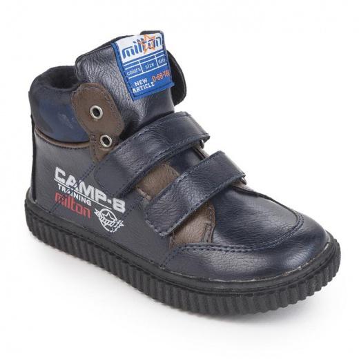 Ботинки дошкольные арт. 25596-SB, синий, размер 25