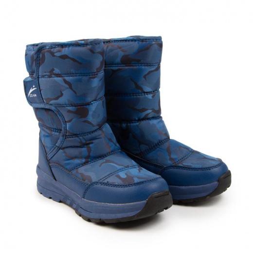 Дутики детские EX-Tim, цвет синий, размер 31