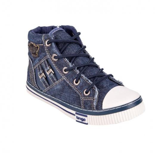 Кеды детские, цвет синий, размер 32