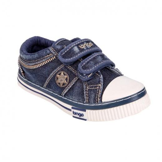 Кеды детские, цвет синий, размер 30