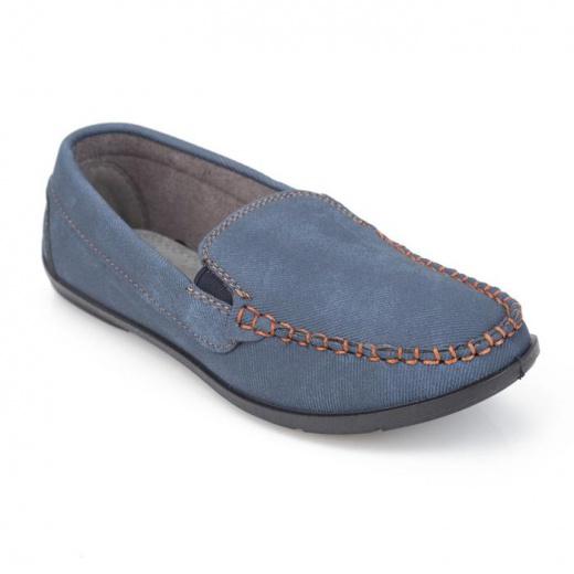 Мокасины детские, цвет синий, размер 31