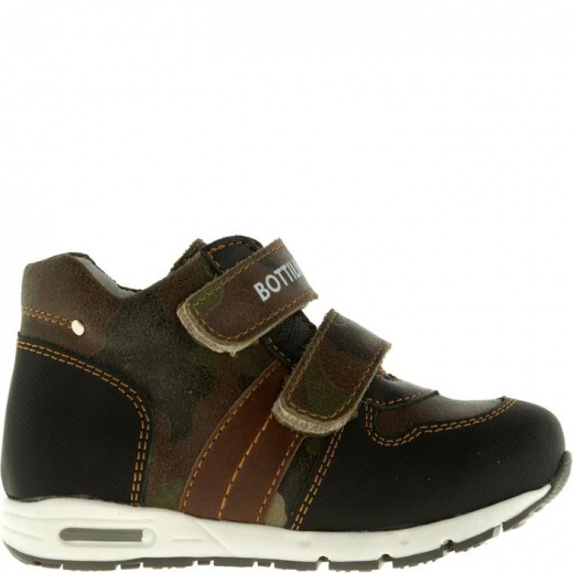 Ботинки детские, размер 21, цвет коричневый 5053694