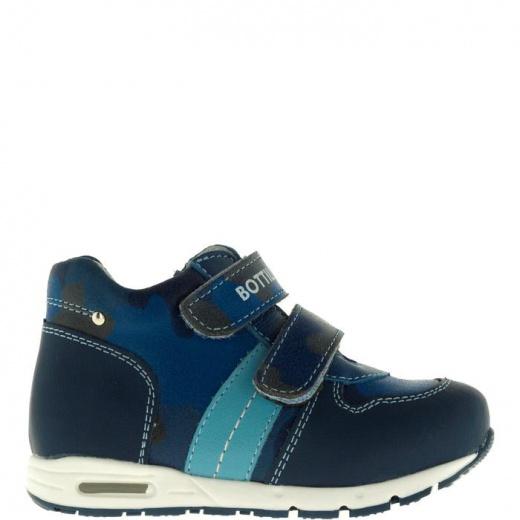 Ботинки детские, размер 21, цвет синий 5053699