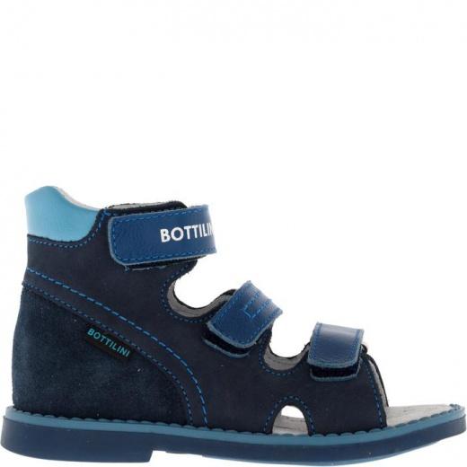 Сандалии детские, размер 18, цвет синий 4902965