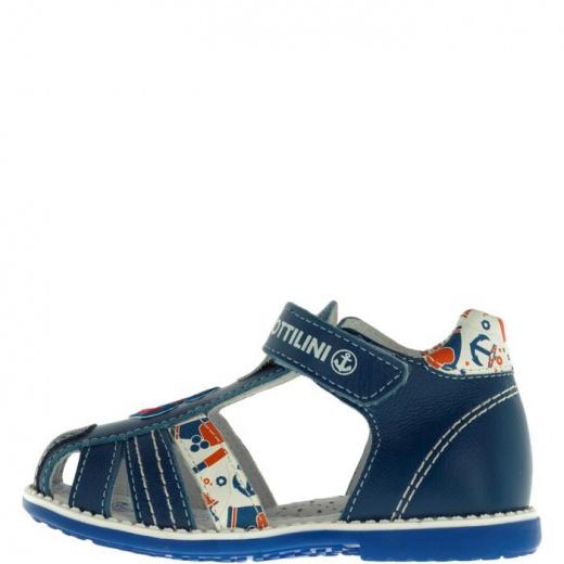 Сандалии детские, размер 20, цвет голубой 4903266