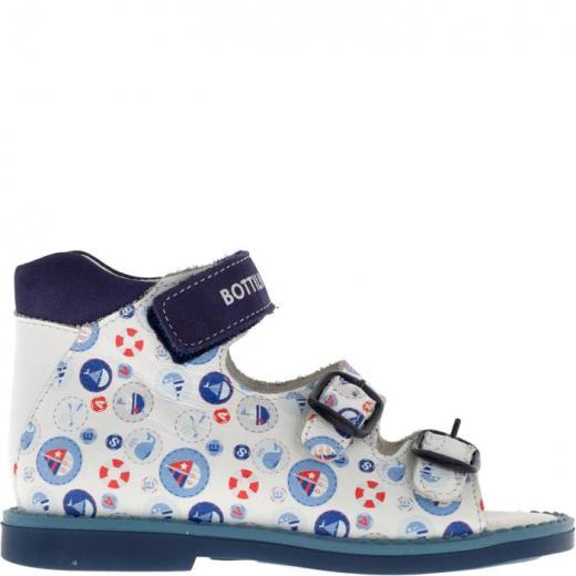 Сандалии детские, размер 18, цвет синий 4902907