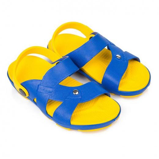 Пантолеты детские арт. 625, цвет жёлтый/светло-синий, размер 30