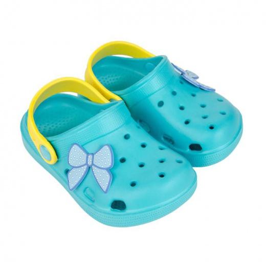 Обувь детская пляжная, цвет бирюзовый, размер 24