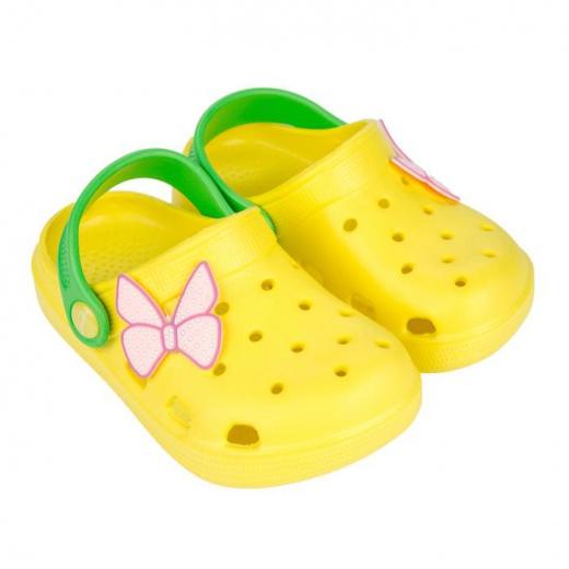 Обувь детская пляжная, цвет жёлтый, размер 24