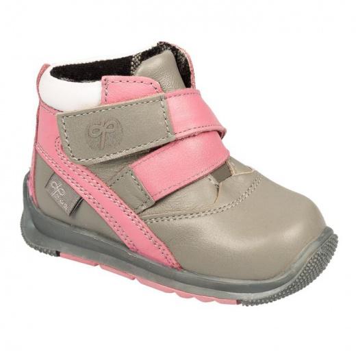 Ботинки детские ФОМА арт. 11819 (серый/розовый/белый) (р. 21) 3806889