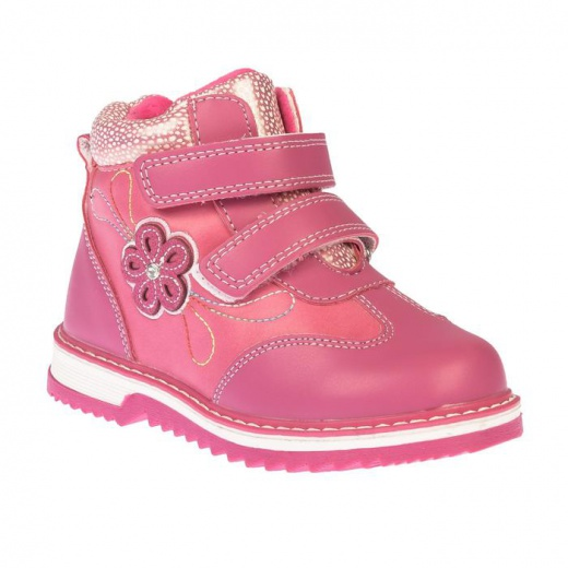 Ботинки детские YT-10 MINAKU фуксия р. 26 3587535