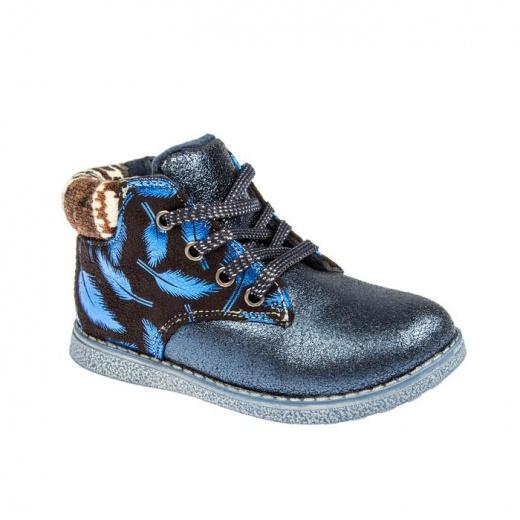 Ботинки детские арт. SС-25023, цвет синий, размер 28