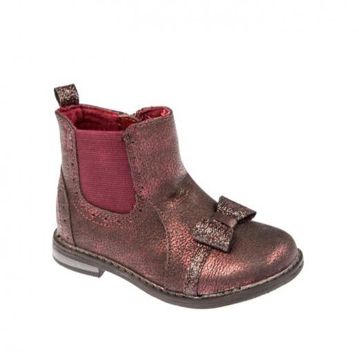 Ботинки детские арт. SС-25037, цвет бордовый, размер 24