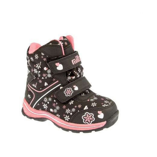 Ботинки детские арт. SС-26371, цвет чёрный, размер 27