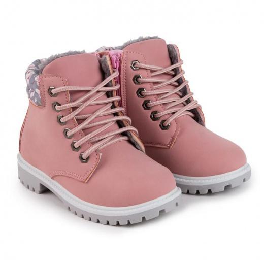 Ботинки детские, цвет розовый, размер 31