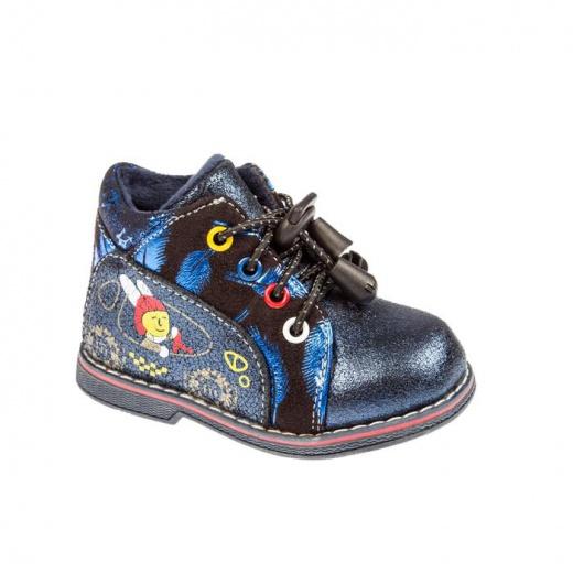 Ботинки детские арт. SС-25020, цвет синий, размер 22