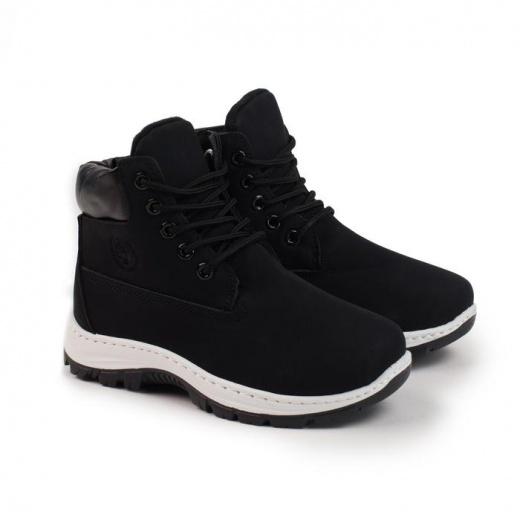 Ботинки детские LIAO, цвет чёрный, размер 32