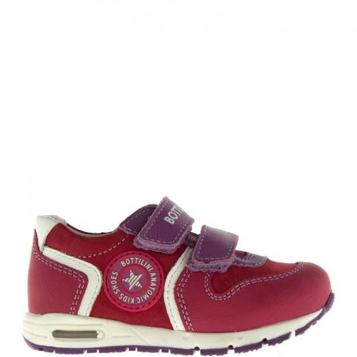 Полуботинки детские, размер 22, цвет бордовый 5053645