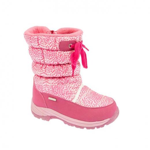 Дутики детские, цвет розовый, размер 36