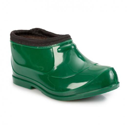 Галоши детские, цвет зелёный, размер 26