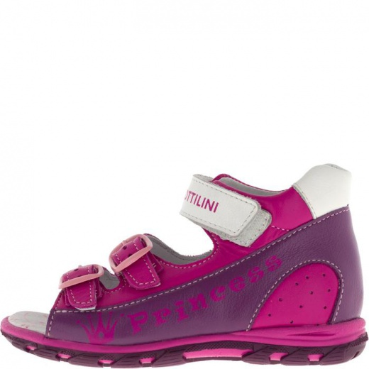 Сандалии детские, размер 18, цвет фиолетовый 4903147