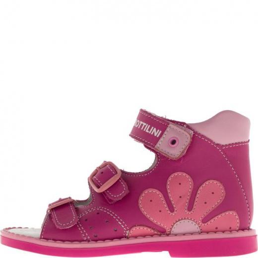 Сандалии детские, размер 19, цвет розовый 4902764