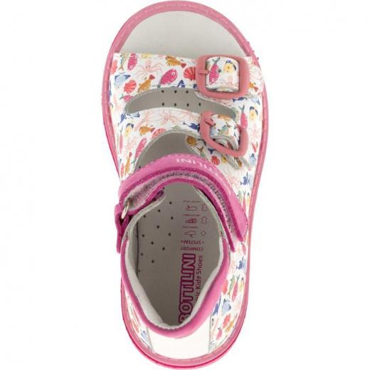 Сандалии детские, размер 18, цвет розовый 4902915