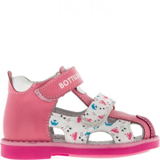 Сандалии детские, размер 19, цвет розовый 4903301