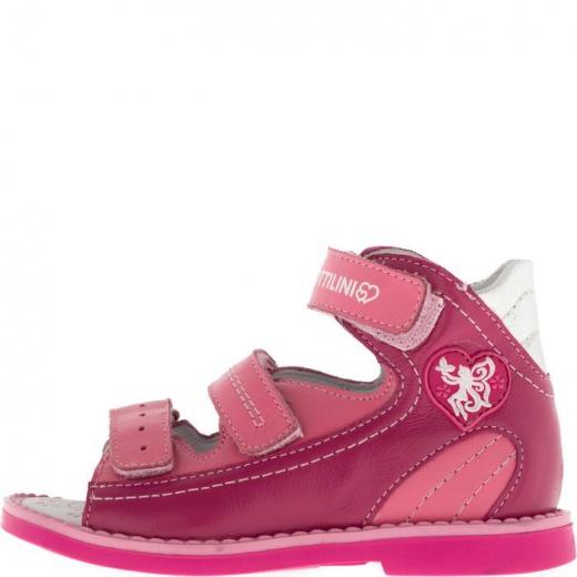 Сандалии детские, размер 18, цвет розовый 4902977