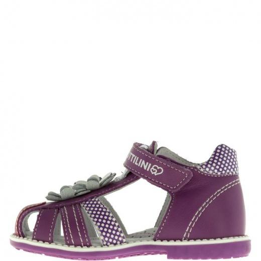 Сандалии детские, размер 19, цвет фиолетовый 4903277