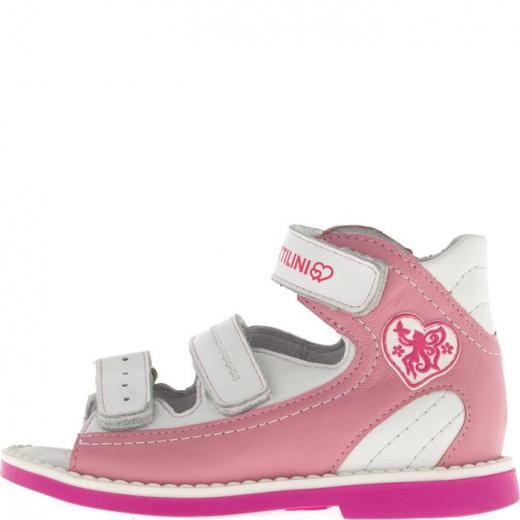 Сандалии детские, размер 18, цвет светло-розовый 4903001