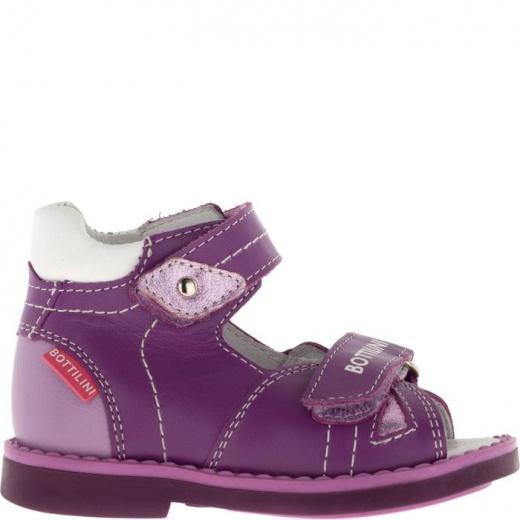 Сандалии детские, размер 18, цвет фиолетовый 4902835