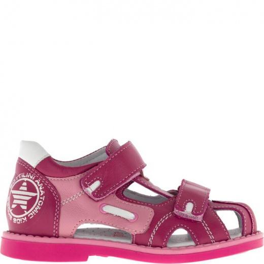 Сандалии детские, размер 25, цвет розовый 4903307