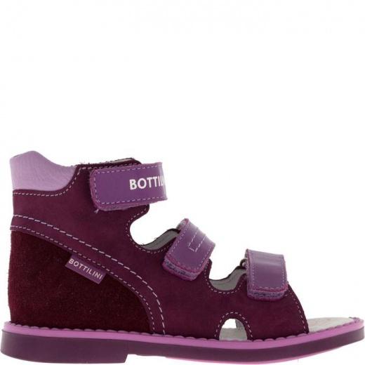 Сандалии детские, размер 18, цвет фиолетовый 4902941