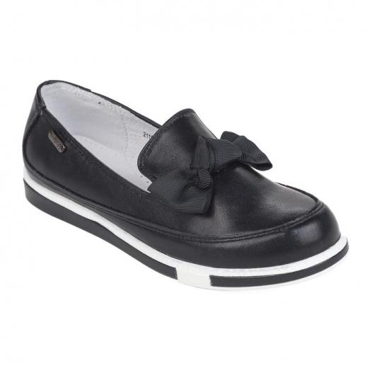 Полуботинки школьные для девочки арт. 211696 цвет черный, размер 32